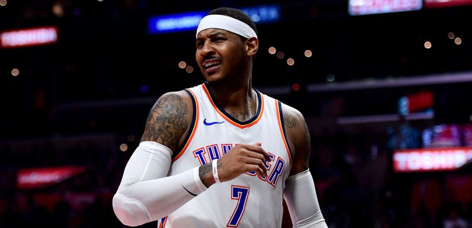NBA Rumors: OKC Thunder Should Trade Carmelo Anthony To