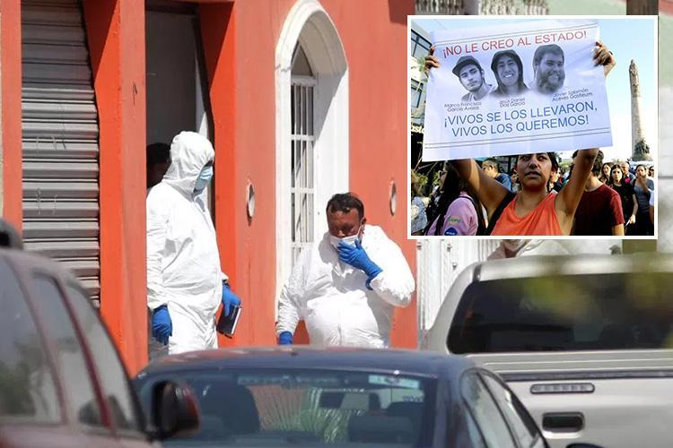 Mexico drug cartel assassins dissolve 12 people in ACID - including