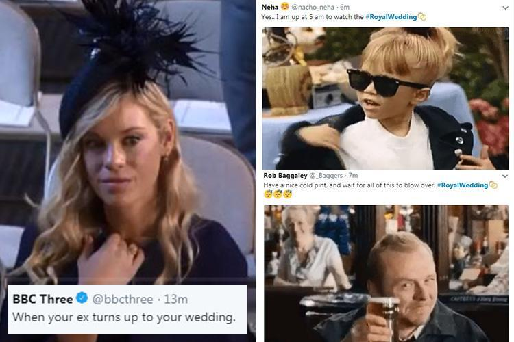 The best Royal Wedding memes as Prince Harry's ex Chelsy