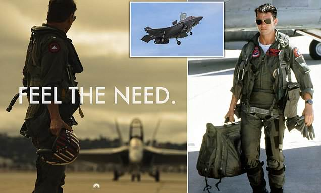Top Guns blast sequel after Tom Cruise shares snap of 1990s jet