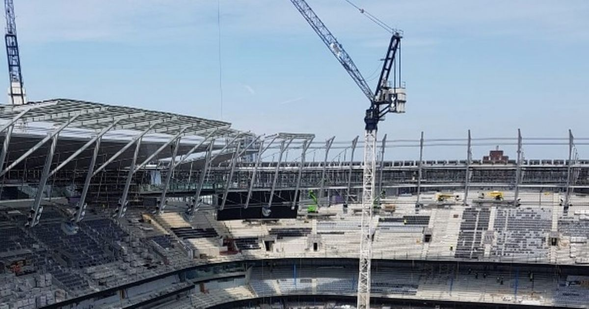 New Tottenham Stadium Footage Revealed By Worker On Site