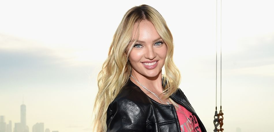 73304ae378 Victoria s Secret Model Candice Swanepoel Reveals Post-Baby Body In A Bikini  Just 3 Weeks After Giving Birth - Big World News