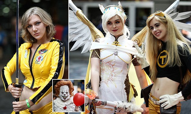 Cosplay Fans Don Best Costumes At Wizard World Comic Con In Chicago
