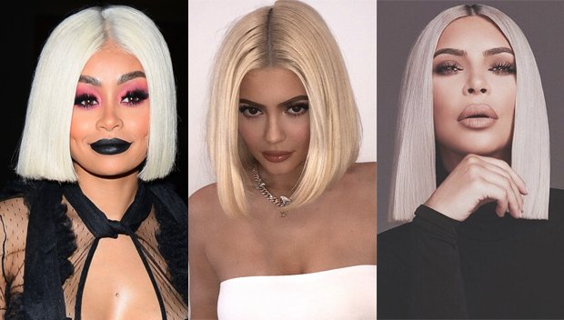 638519fca0fe4 Blac Chyna Competes With Kim K   Kylie Jenner With Look-Alike Platinum Bob  Makeover - Big World News