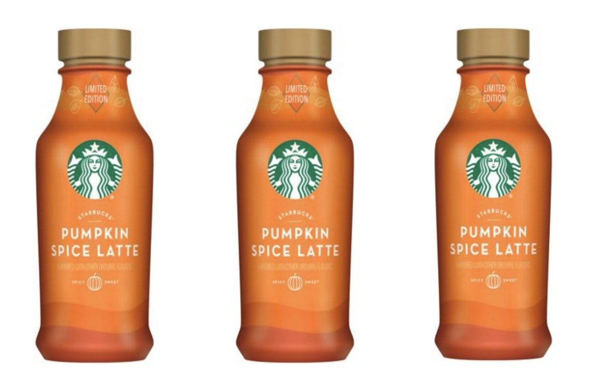 Walmart is selling 40-ounce bottles of Starbucks Pumpkin Spice Lattes for less than 5