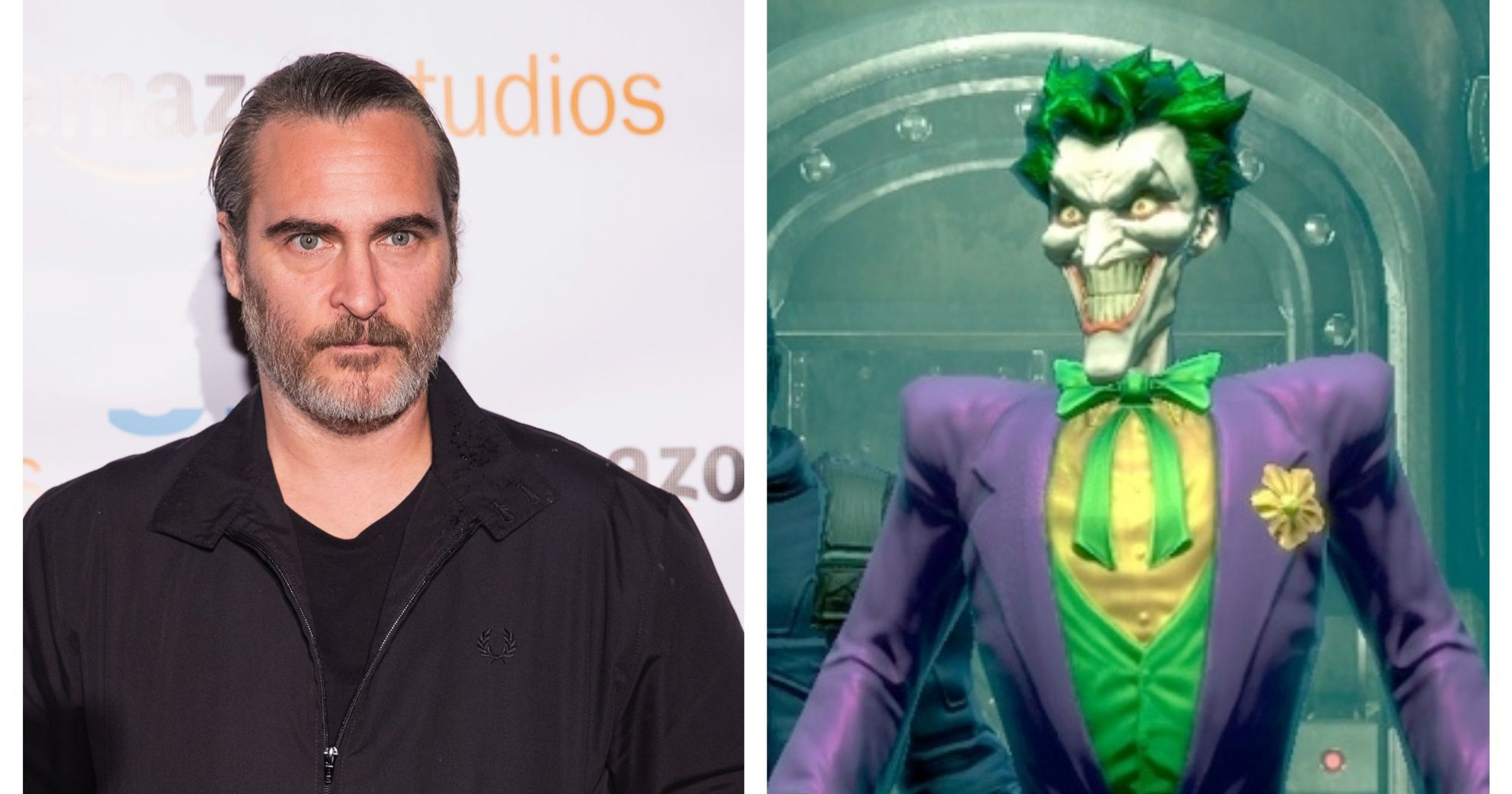 See Joaquin Phoenixs Joker Before The Madness In The