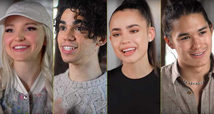 Descendants 3′ Cast Goes Behind-the-Scenes During Rehearsals