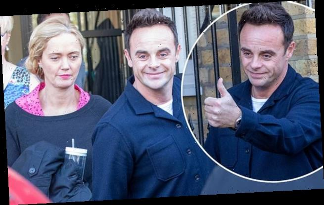 Ant Mcpartlin Leaves His Office With Girlfriend Anne Marie Corbett Big World News