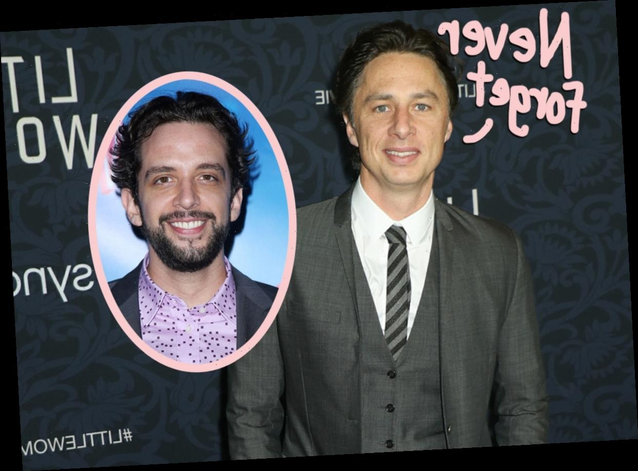Zach Braff Shades Emmys After They 'Chose' To Exclude Nick ...